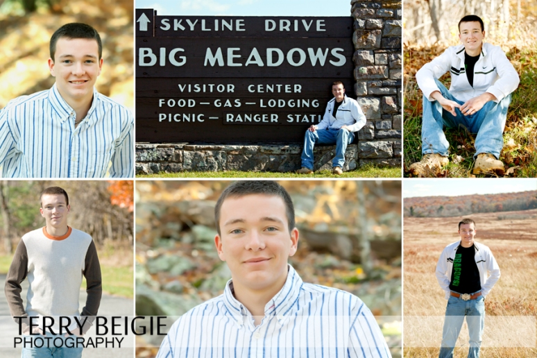 Central Virginia Senior portraits