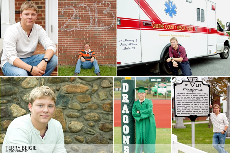 Greene Virginia Senior Portraits