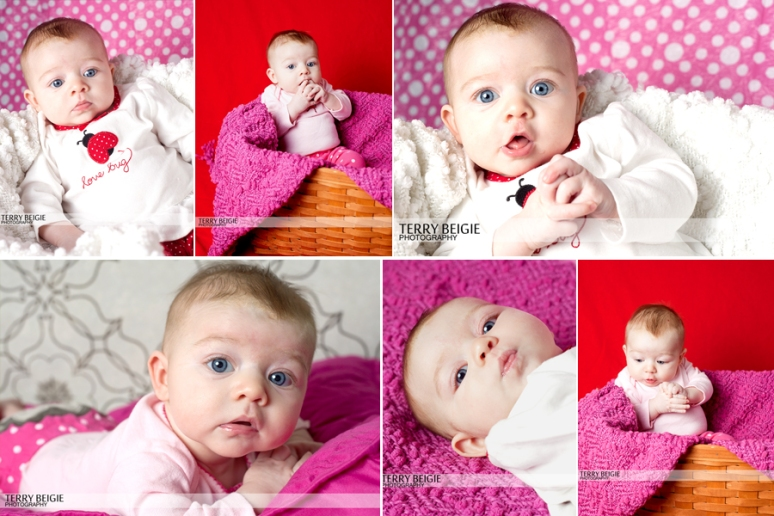 Baby M three-month photos