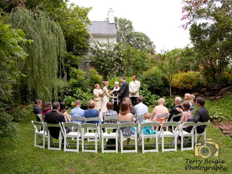 Intimate wedding Charlottesville