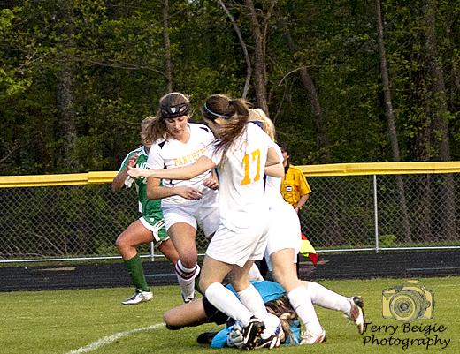 tough girl soccer goalies