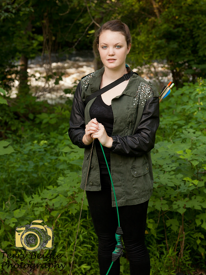 Hunger Games Inspired Photoshoot