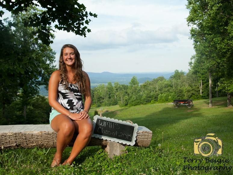 Central Virginia senior photographer