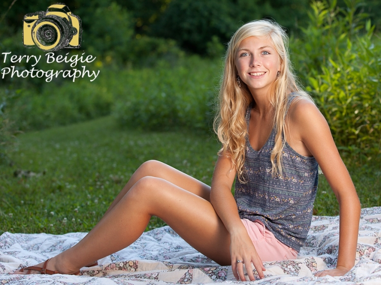 Charlottesville high school senior photography