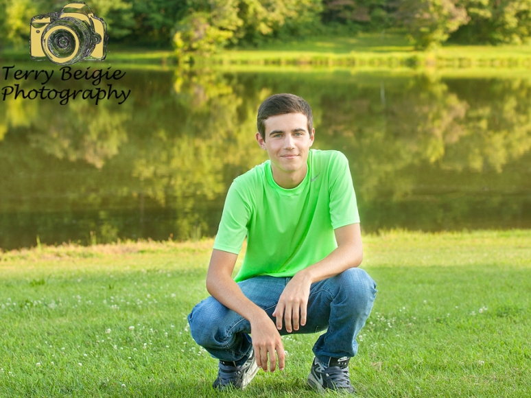 Stanardsville high school golf senior photos