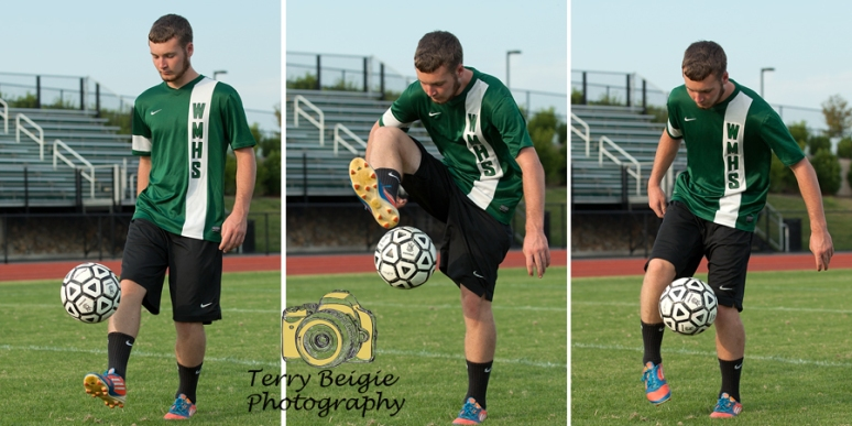 Stanardsville high school senior photography soccer guy