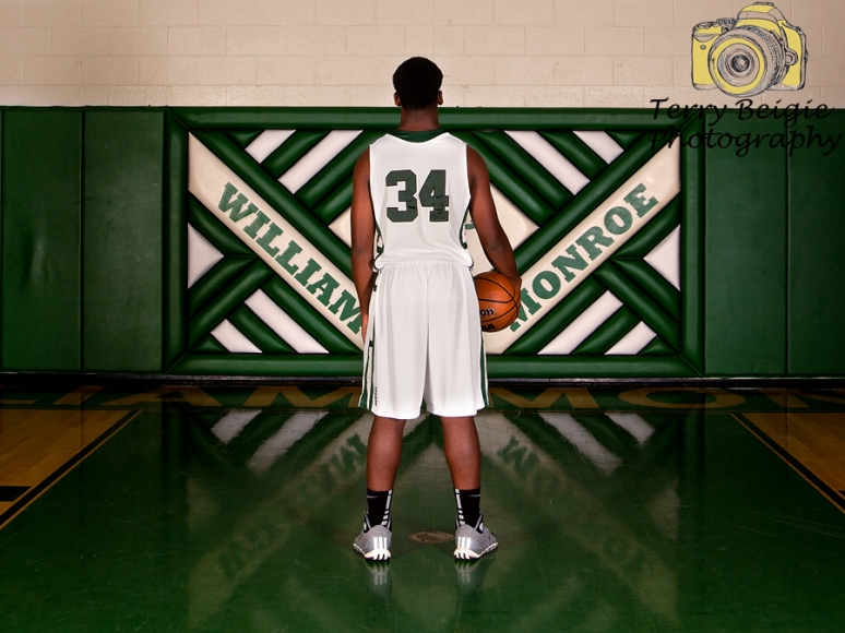 Stanardsville Virginia high school senior photography basketball team