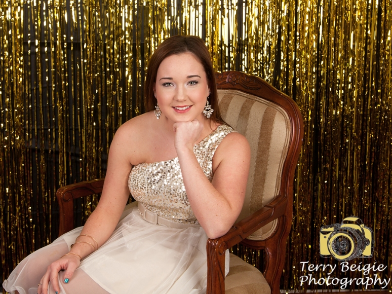 New Year's Eve Studio Senior Photography