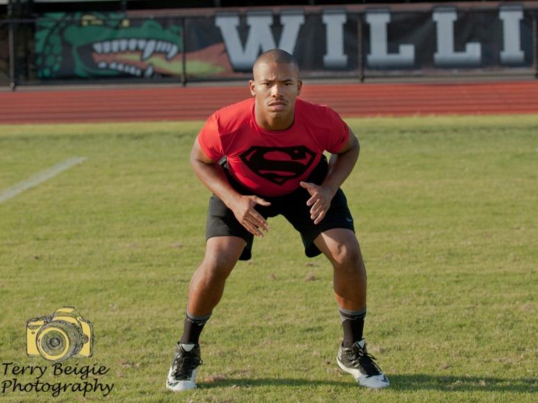 Central Virginia Football High School Senior Photography